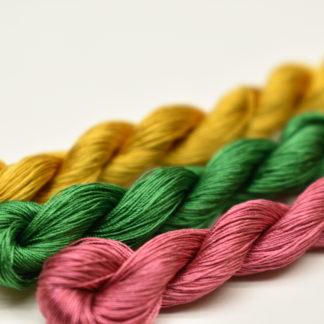 手組教材 本絹糸