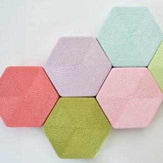 正絹 六角桐箱